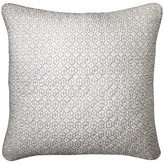 "Mudhut Hope Quilted Throw Pillow (20""x20"") Grey"