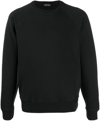 Tom Ford Crew Neck Cotton Sweatshirt