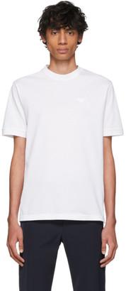 Prada White Pique T-Shirt