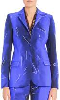 Alberta Ferretti Tailored Two-Button Jacket