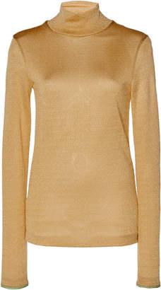 Acne Studios Elin Lurex Turtleneck Sweater