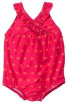 Gymboree Floral 1-Piece Swimsuit