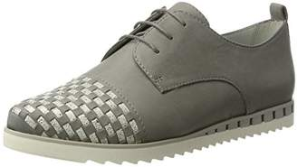 Be Natural Women's 23203 Oxfords, Lt. Grey 204