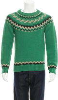 Moncler Patterned Wool Sweater
