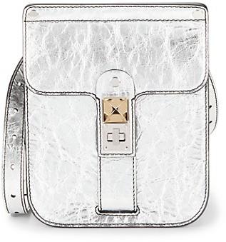 Proenza Schouler Metallic Leather Messenger Bag