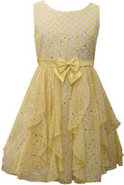 Bonnie Jean Yellow Cascade Dress - Girls' Plus