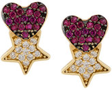 Anton Heunis star & heart earrings