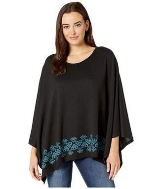 Roper 3611 Sweater Knit Poncho