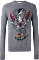 Valentino decorative jumper