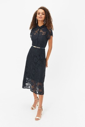 Coast Belted Lace Shirt Dress