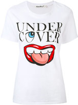 Undercover mouth logo T-shirt - women - Cotton - II