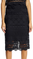 KENDALL + KYLIE Crotchet Pencil Skirt