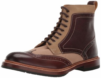 Stacy Adams Men's M-2 Wingtip Lace up Boot Ankle