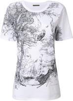 Alexander McQueen Nature print T-shirt