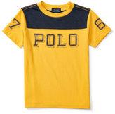 Ralph Lauren Boys 2-7 Graphic-Front T-Shirt