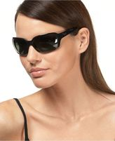 Ray Ban Sunglasses, Polarized Big Glamour Wrap Frames