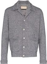 Prévu Alnwick knit trucker jacket
