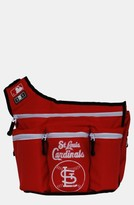 Diaper Dude Infant 'St. Louis Cardinals' Messenger Diaper Bag - Red
