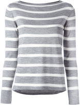 Eleventy striped jumper - women - Silk/Merino - M