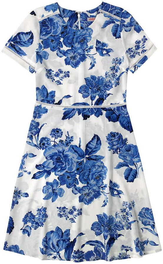 Cath Kidston Porchester Rose Mono Tea Dress
