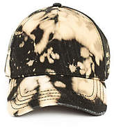True Religion Bleach Dye Baseball Cap