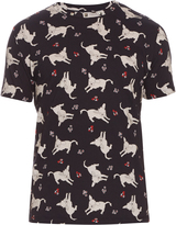 J.W.Anderson Donkey-print cotton-jersey T-shirt