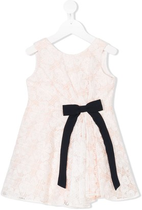 Hucklebones London Pleated Bodice Dress