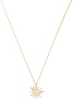 Janis Savitt Women's 18K Gold & 0.28 Total Ct. Diamond Starburst Pendant Necklace