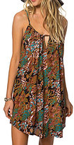 O'Neill Marnie Floral Keyhole Neck Slip Dress
