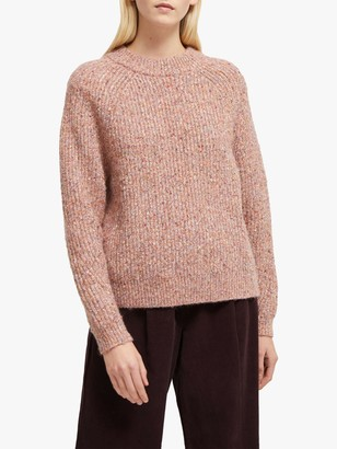 French Connection Suvia Jumper, Cinder Pink