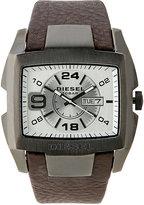 Diesel DZ1216 Gunmetal & Brown Watch