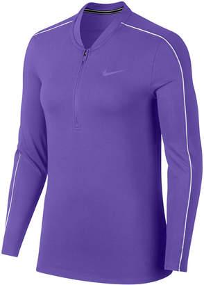 Nike Court Dry Half-Zip Tennis Top