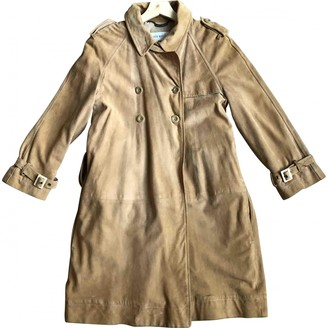 See by Chloe Beige Suede Coat for Women