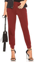 Wilt Crop Shifted Jogger Pant in Red. - size L (also in M,S,XS)