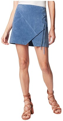 Blank NYC Suede Mini Skirt (Play Date) Women's Skirt