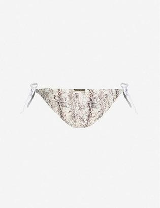 Heidi Klein Zambia rope-tie high-rise bikini bottoms