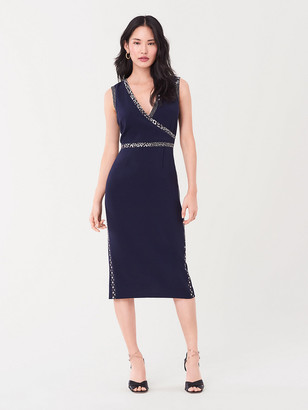 Diane von Furstenberg Anissa Stretch-Crepe Midi Dress