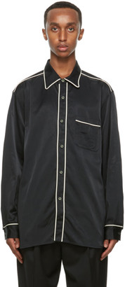 Nicholas Daley Black Cotton Standard Shirt