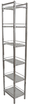 John Lewis Ice 6 Tier Shelf Unit