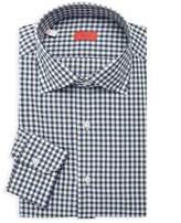 Isaia Gingham Dress Shirt