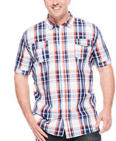 i jeans by Buffalo Miles Short-Sleeve Woven Shirt - Big & Tall