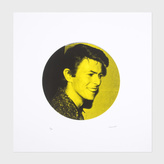 Paul Smith David Bowie Silk Screen Print Limited Edition - Yellow - Little Shop Of Rock