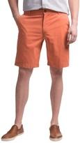 Reed Edward Summer Wash Cotton Shorts - Flat Front (For Men)