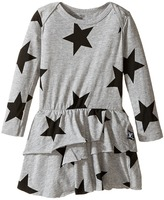 Nununu Super Soft Star Print Dress with One-Piece Skirt (Infant)