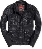 Superdry Men's Leather Rotor Jacket