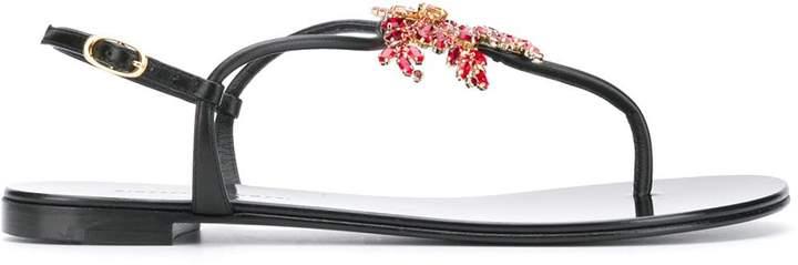 Giuseppe Zanotti embellished Hollie sandals