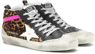 Golden Goose Exclusive to Mytheresa Mid Star calf hair sneakers
