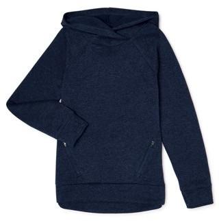 Athletic Works Girls 4-18 Sweater Fleece Hi-Lo Hoodie