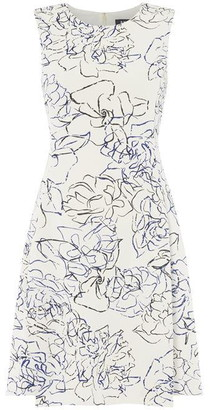 DKNY Occasion Occasion Sleeveless Fit and Flare Dress