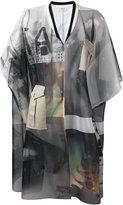 Aviu embroidered coat - women - Cotton/Polyamide/Polyester/Viscose - 42